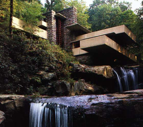 Frank Lloyd Wrights Falling Water House