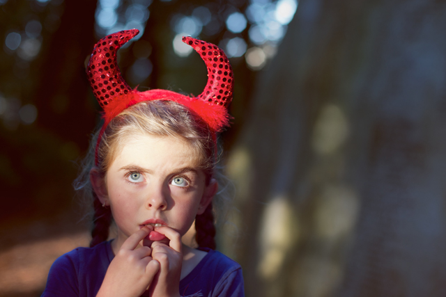 (Flickr/Alexandre Normand) Sometimes we adore the little angels. Sometimes we wish they would have play the devil a little bit and do what their hearths scream for.  … Fine, the latter is of rarer occurence. Still, sometimes it's good to let the angels put on their horns and shake things up. It can't always be easy. ..says the guy who would like quiet and obedient kids.