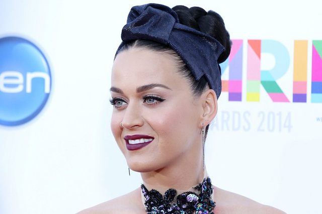 epa04504365 US singer Katy Perry arrives at the 28th annual ARIA Awards at The Star in Sydney, Australia, 26 November 2014. EPA/NIKKI SHORT AUSTRALIA AND NEW ZEALAND OUT