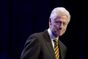 Former President Bill Clinton at the NAACP's 106th Annual National Convention, Wednesday, July 15, 2015, in Philadelphia. (AP Photo/Matt Rourke)