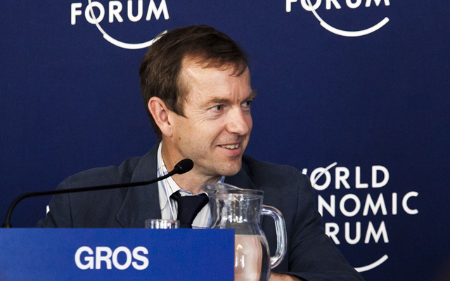 Daniel Gros am World Economic Forum in Wien. (Foto: WEF)