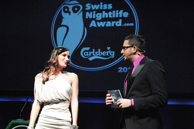«Nein, nicht Swiss Awards, Swiss NIGHTLIFE Awards …»