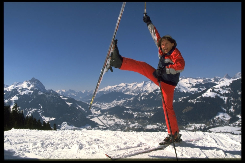 ROMAN POLANSKI ON HOLIDAY IN GSTAAD (Photo by Stephane Cardinale/Sygma via Getty Images)
